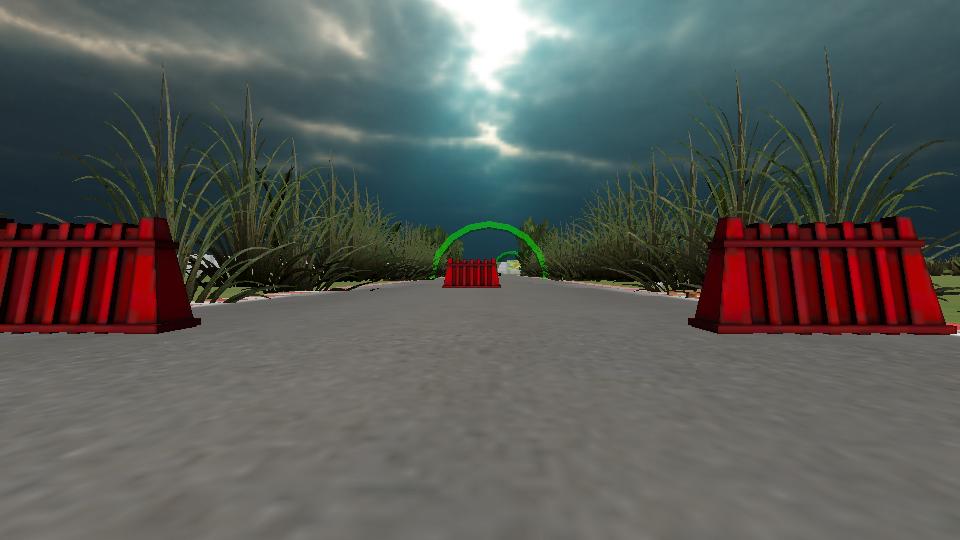 VR轨道高速赛车图1
