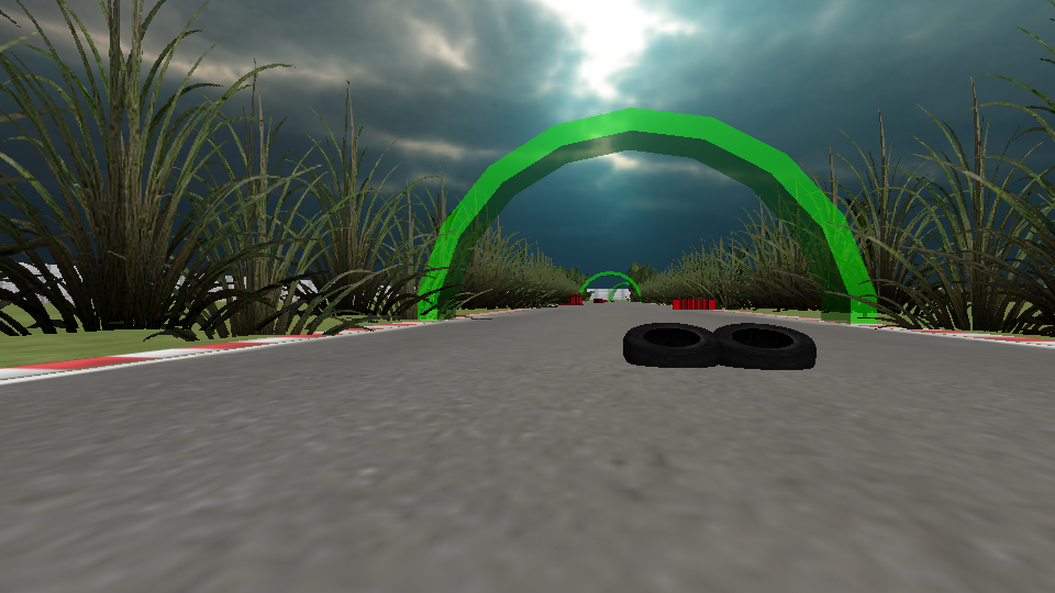 VR轨道高速赛车图4