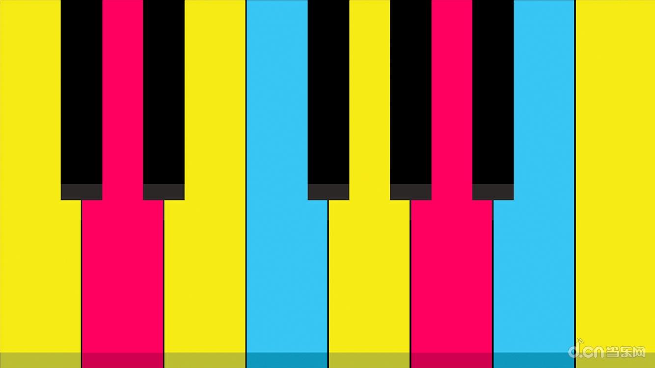 钢琴指法矢量图