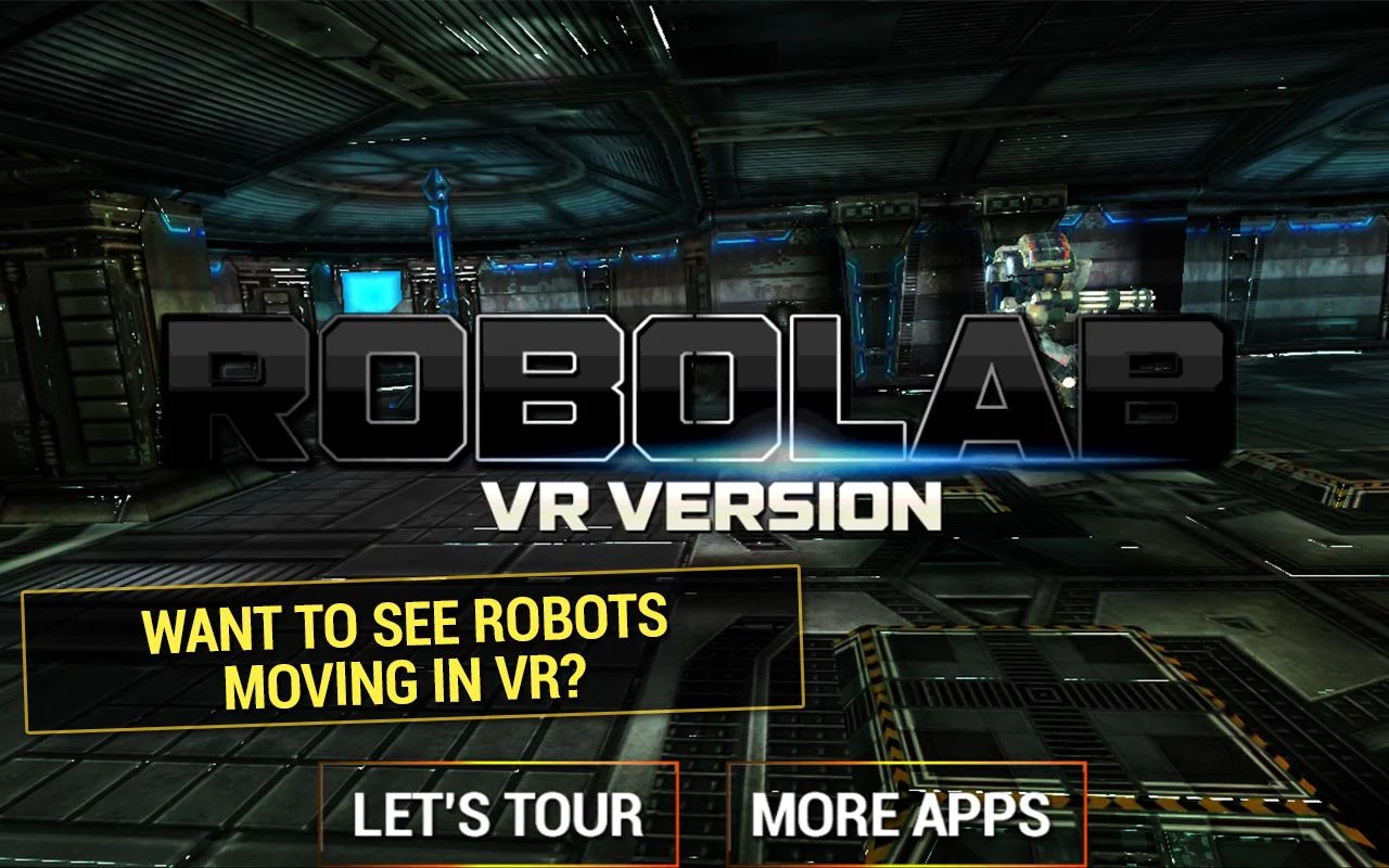 机器人实验室 VR图1