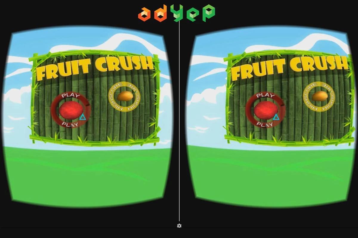 粉碎水果VR图1