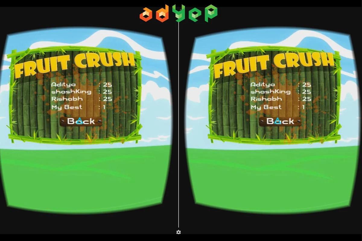 粉碎水果VR图4