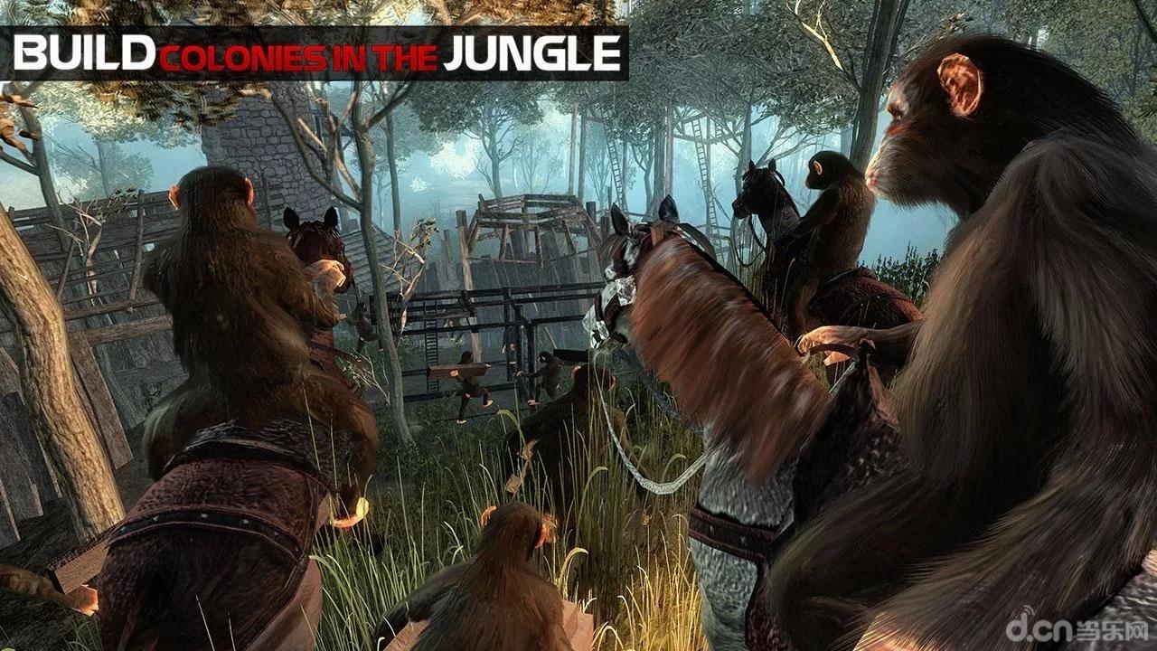 """小编简评:""""猩球崛起"""" 《猿的生命丛林生存 life of ape》是一款模拟"""